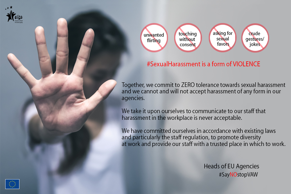 Joint statement by Directors of EU Agencies on stepping up their commitment for zero tolerance towards sexual harassment in the work place