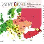Rainbow Europe Map 2018