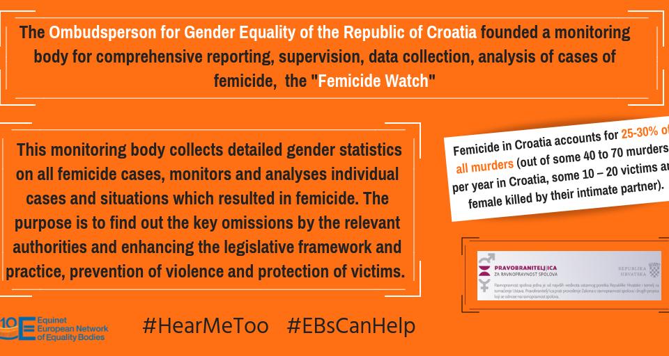 Femicide Watch - Croatian Ombudsperson for Gender Equality