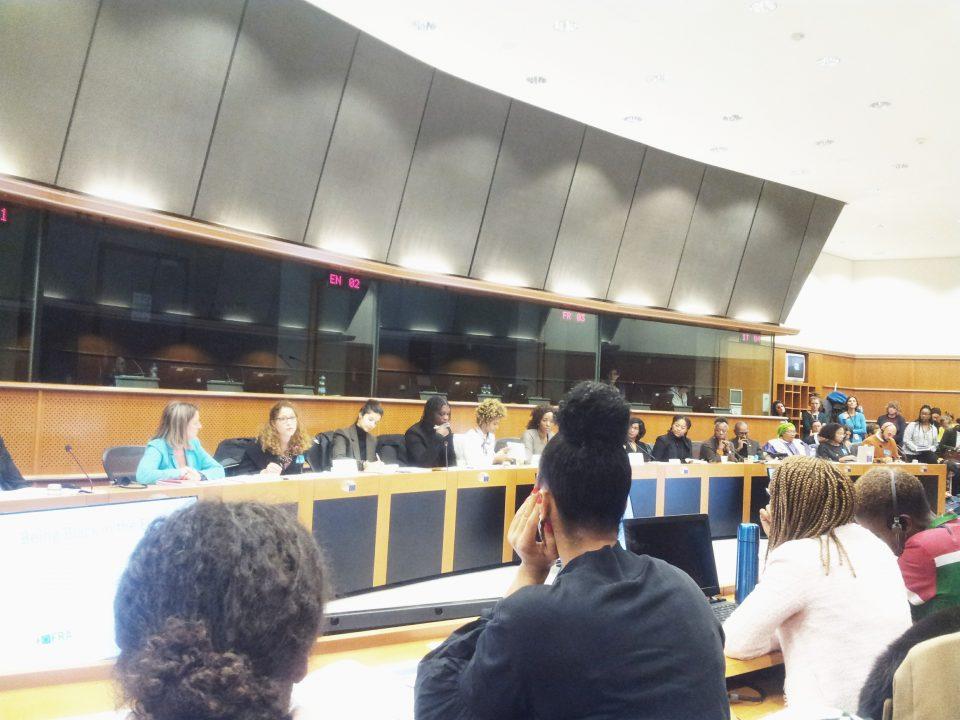 Being Black in the EU - Tena Šimonović Einwalter speaking