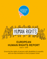 European Human Rights Report - Issue 3 2019.  Ensuring the rights of persons with disabilities to equality
