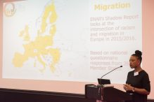 Speaker at Conference on Migration