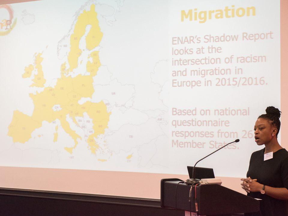 Speaker at Conference on Migration