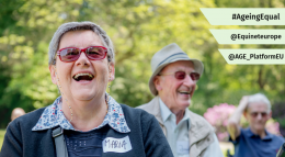 Senior Citizens enjoying outdoors activities