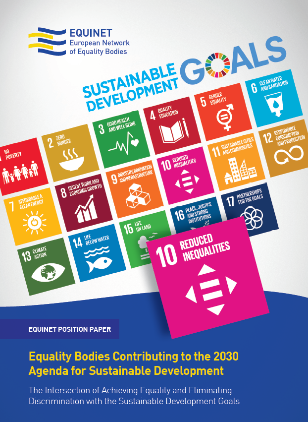 Cover of SDG position paper