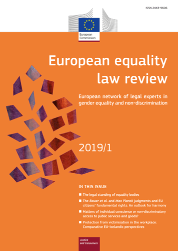 Equality Law Review 2019/1