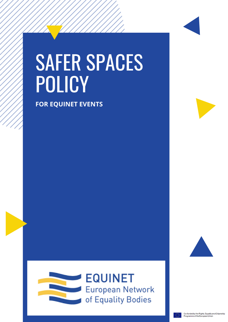 Safer Spaces Policy for Equinet events