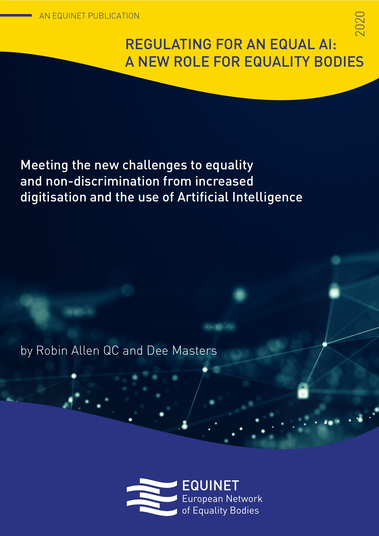AI report cover page