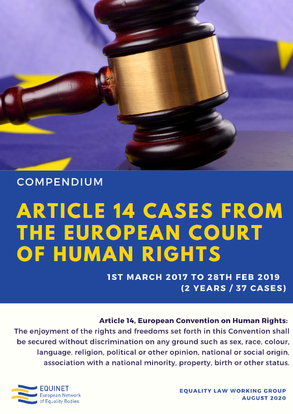 Article 14 Cases from the European Court of Human Rights